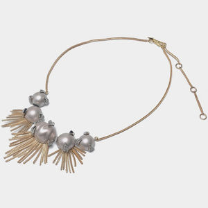 NEW! ALEXIS BITTAR FRINGE PEARL NECKLACE